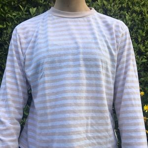 pink and white striped long sleeve!!